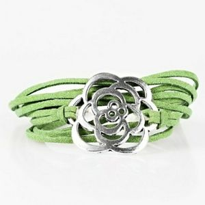 Va va bloom green braclet
